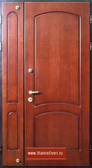 двери металлические тамбурные двухстворчатые входные