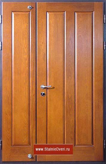 вставка железной двери в квартиру