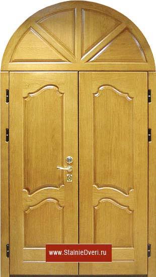 дверь двухстворчатые металлическая купить