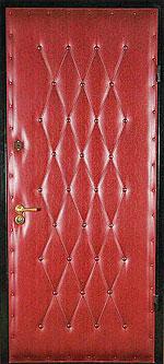 Самый дешевый вариант ламинированных металлических входных дверей...