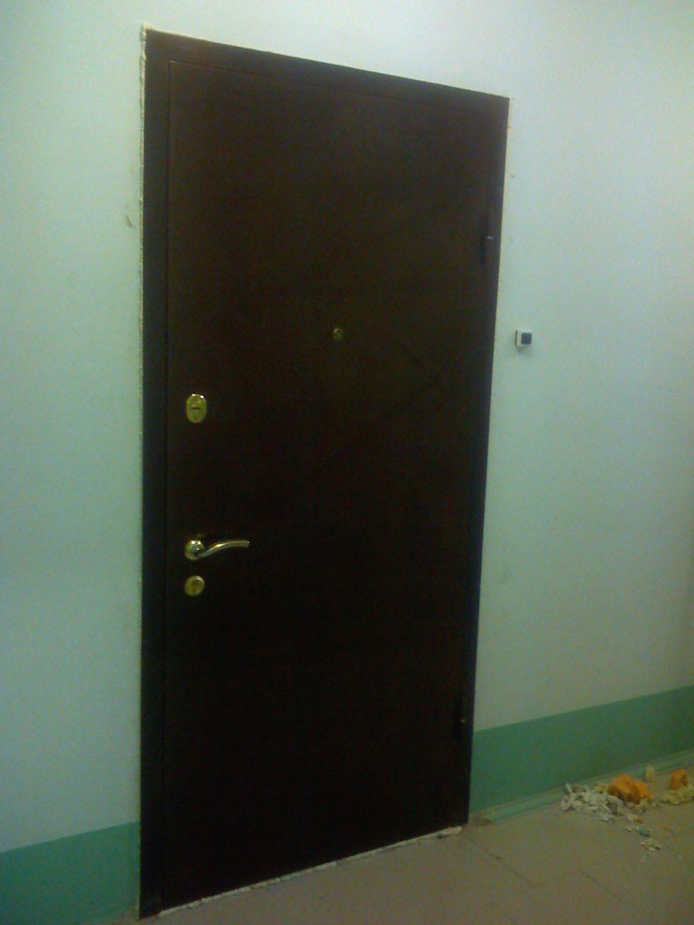 стальная металлическая дверь в квартиру